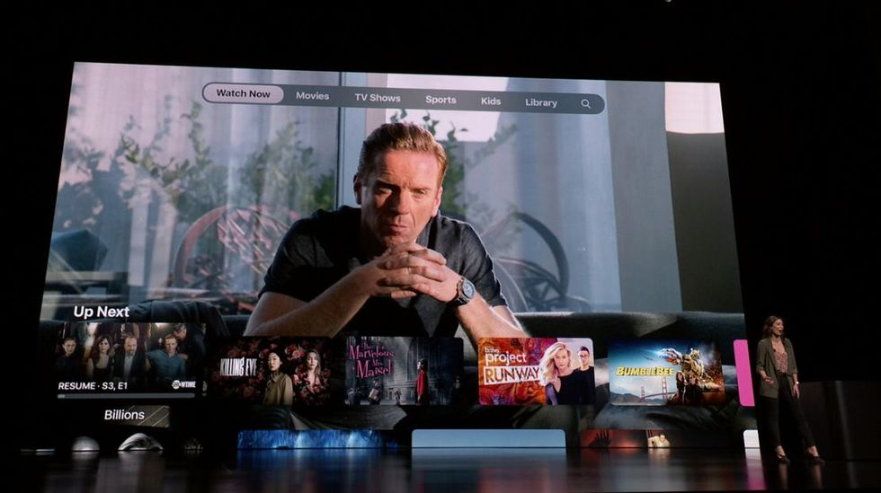Apple TV + será el Netflix de Apple. (Foto: Captura)