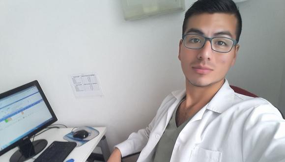 El médico chimbotano Marvin Cuenca Bejarano trabajaba en una clínica privada de Lima. (Foto: Facebook).