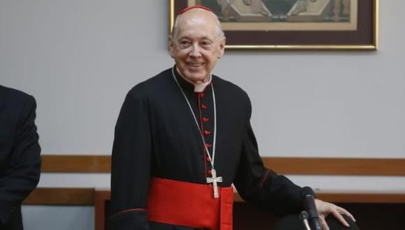 Este viernes, el Vaticano hizo oficial la aceptación de la renuncia de Juan Luis Cipriani como Arzobispo de Lima. (Foto: Mario Zapata)