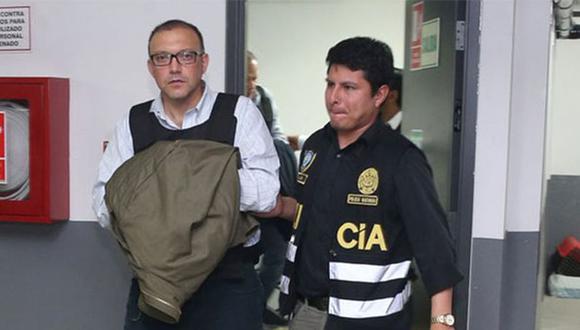 Pier Figari cumple una orden de 18 meses de prisión preventiva en el penal Miguel Castro Castro. (Foto: Agencia Andina)