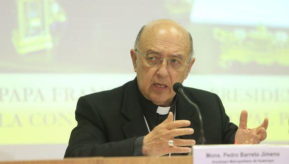 El cardenal Pedro Barreto lamentó que en el Perú exista la prescripción para delitos sexuales en referencia al caso Sodalicio. (Foto: Archivo/GEC)
