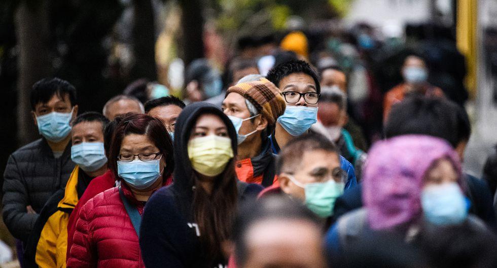 Más de 40 mil personas están infectadas en China. (Foto: Anthony WALLACE / AFP)