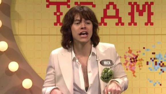 Harry Styles: ex One Direction imitó así a Mick Jagger