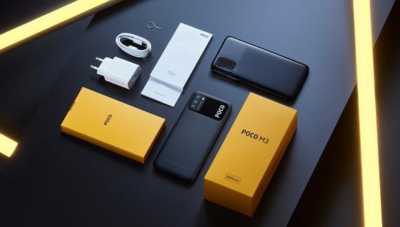 POCO M3 incluye una batería de gran duración de 6.000mAh. (Difusión)