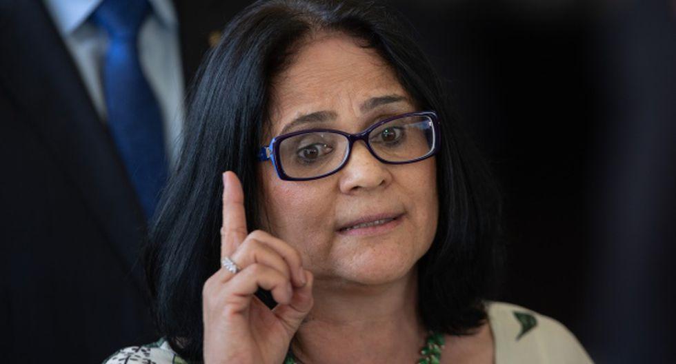 La ministra se defendió insinuando que su mensaje fue descontextualizado y que solo aboga por los niños. (Foto: AFP)