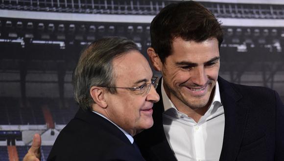 El Confidencial, medio español, ha revelado audios de Florentino Pérez donde dispara contra dos leyendas del Real Madrid | Foto: AFP
