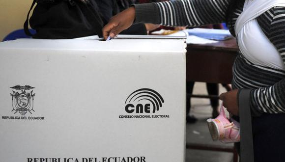 Las elecciones generales en Ecuador están programadas para el 7 de febrero del 2021. (Foto: AFP)