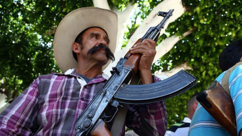 La violencia del narcotráfico en Michoacán provocó el nacimiento de autodefensas en el estado.