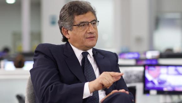 Juan Sheput llamó hoy a Fuerza Popular a decidir si apoya la lucha contra la corrupción. (Foto: Archivo El Comercio / Video: Canal N)