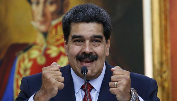 Estados Unidos ofrece 15 millones de dólares por la captura de Maduro para juzgarlo por narcoterrorismo. Foto: AP