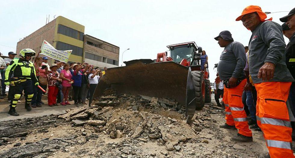 Municipalidad de Lima inicia ampliación de Av. Miguel Iglesias - 2