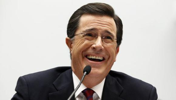 "Stephen Colbert reemplaza a David Letterman en ""The Late Show"""