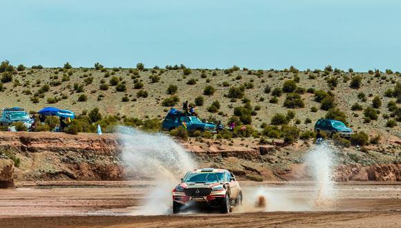 El piloto peruano Nicolás Fuchs no ha logrado partir a tiempo en la décima etapa del Dakar 2018 entre Salta y Belén. (Foto: Facebbok Nicolás Fuchs)