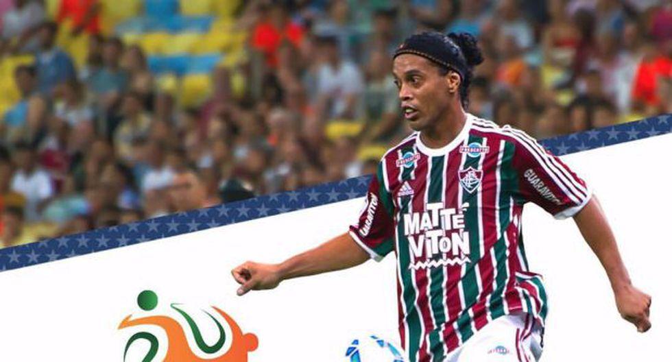 Ronaldinho regresa a Fluminense y debutará en Copa de Florida