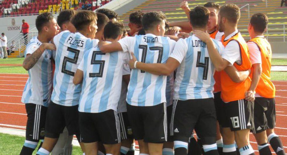 Argentina vs. Chile: las postales de duelo por la tercera fecha del Sudamericano Sub 17. (Foto: Twitter Selección Argentina / Selección Chilena)