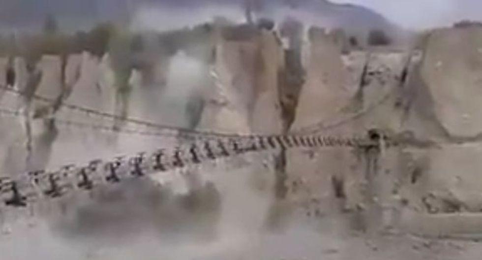 Terremoto en Asia: Nuevas imágenes de la tragedia [VIDEOS]
