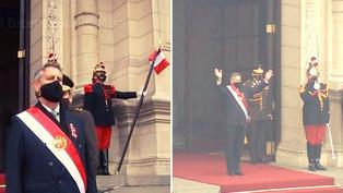 Perú: Francisco Sagasti se despide de la presidencia