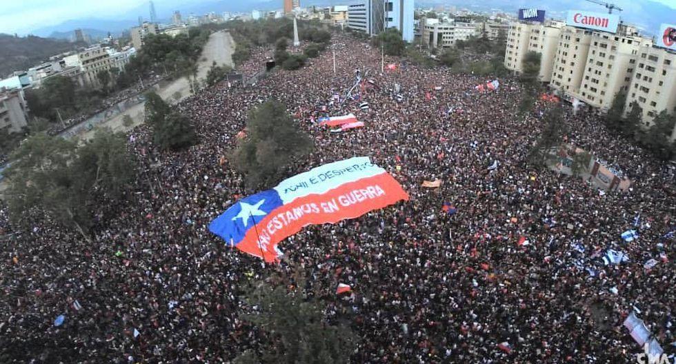 Resultado de imagen para crisis en chile marcha