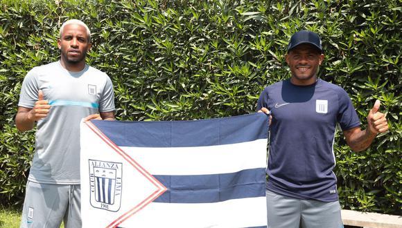 Jefferson regresó a Alianza tras 17 años. Aguirre ya lo había hecho en el 2008 y en el 2013. (Foto: Alianza Lima)