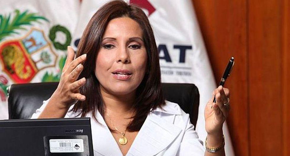 Tania Quispe fue jefa de la Sunat entre los años 2011 y 2015, durante el gobierno de Ollanta Humala. (USI)