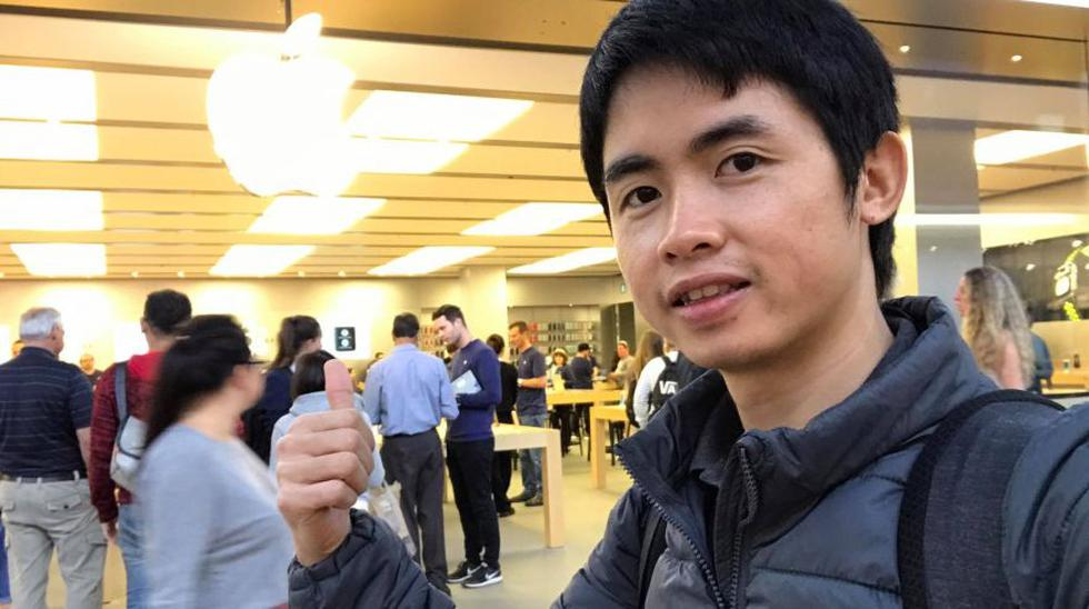 Bloguero viajó más de 7 mil kilómetro y acampó por el iPhone 7 - 6