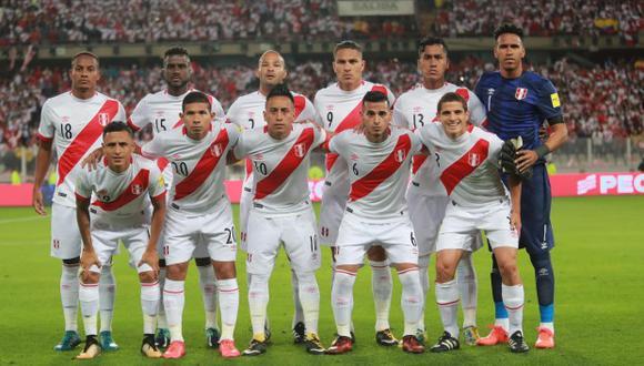 Perú está a pocos días de debutar en el Mundial de Rusia 2018. El primer rival será la Dinamarca de Christian Eriksen, volante del Tottenham. (Foto: AFP).