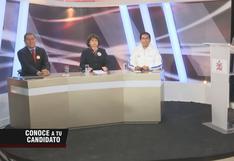 """""""Conoce a tu candidato"""", el nuevo programa de TV del JNE para informar a electores"""