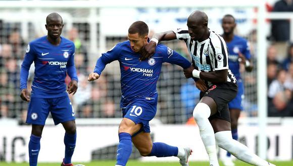 Chelsea se mide ante Newcastle esta mañana (10:00 am. EN VIVO ONLINE vía ESPN 2) en el St James' Park por la tercera jornada de la Premier League. (Foto: AFP)