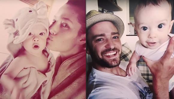 Justin Timberlake comparte tiernas fotos de su hijo Silas