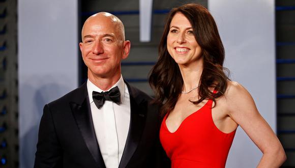 Jeff Bezos y MacKenzie se divorcian tras 25 años de matrimonio. (Reuters).