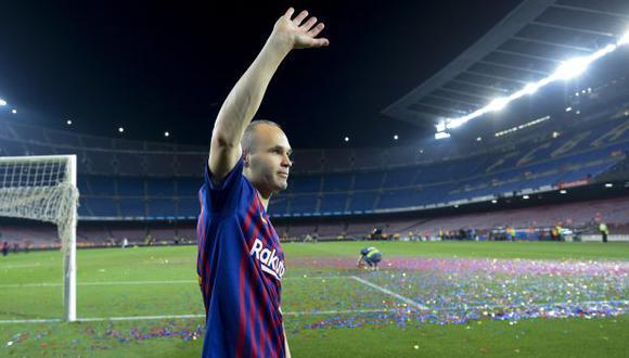 Andrés Iniesta dejó el Barcelona a mediados del 2018 y fichó por el Vissel Kobe. (Foto: AFP)