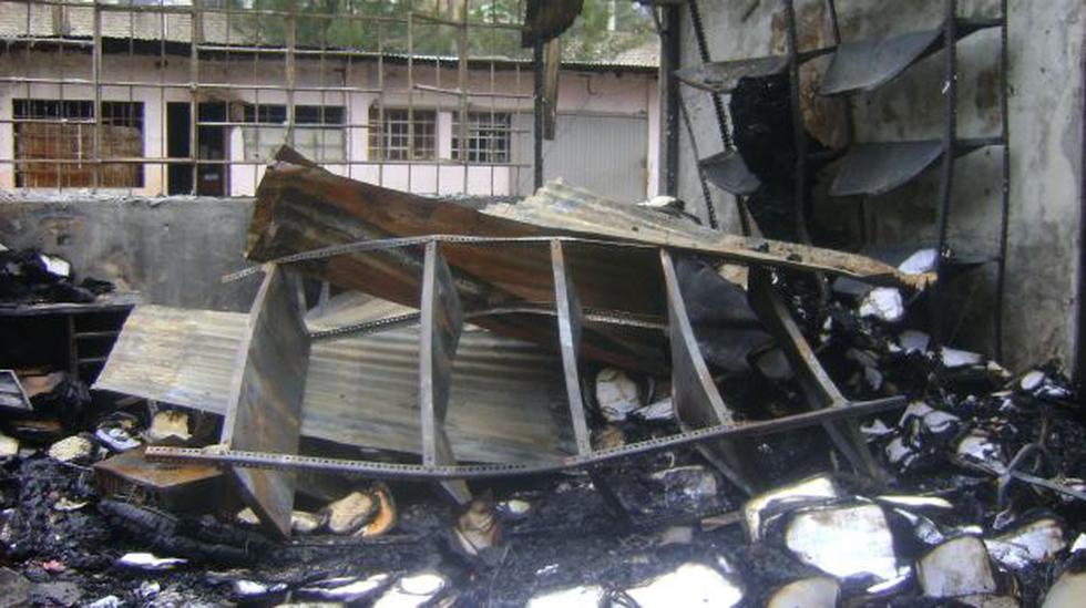 Huánuco: Incendio en la procuraduría quemó 13 mil expedientes - 2