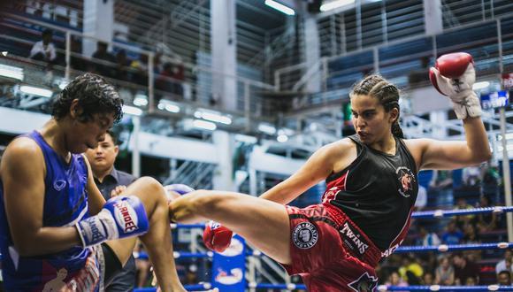 Tristana Tola no tuvo problemas para vencer a la local Leciejewska, en la categoría de 54 kilos. Foto: agencias