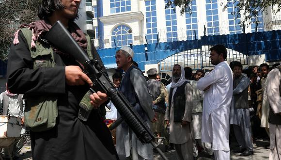 Imagen referencial. Un talibán armado en Kabul, Afganistán. REUTERS