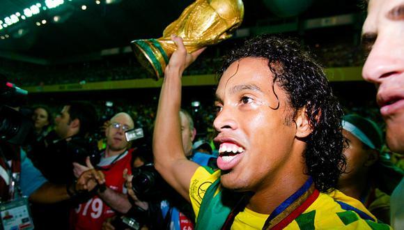 Ronaldinho fue la gran revelación del Brasil campeón del Mundial Corea-Japón 2002. (Foto: Getty Images).