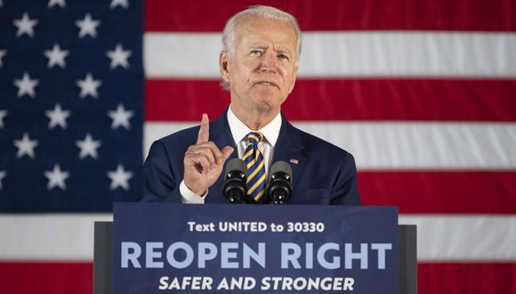 4 de Julio: Joe Biden lanza mensaje de unidad frente al racismo con motivo de la Independencia de Estados Unidos. (Foto: JIM WATSON / AFP).