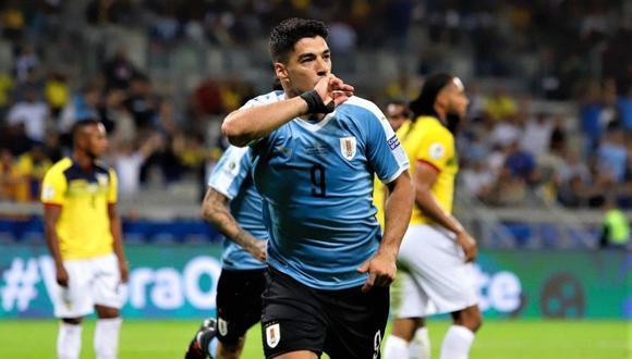 Suárez está a un gol de romper una marca en las eliminatorias sudamericanas. (Foto: Agencias)