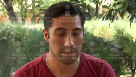 Al bloquear la marcha del tren y llegar deslizándose aparatosamente por las vías de la estación, Rodrigo salió de la cabina y vio humo hasta el fondo de la estación. (Foto: Captura de Video).