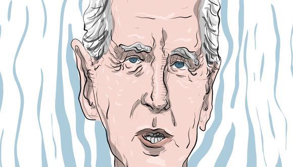 """""""Biden es un gobernante de centro y tiene una vasta experiencia. Se está convirtiendo un líder mundial, ese bien preciado"""". (Ilustración: Giovanni Tazza)"""