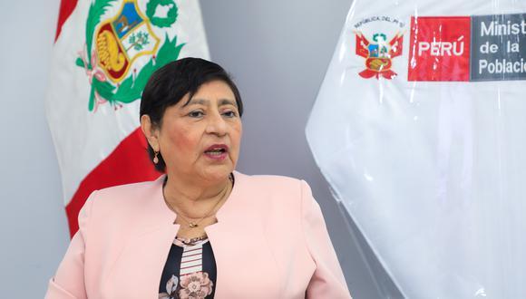 La ministra de la Mujer, Silvia Loli, asegura que se deben fortalecer estrategias de prevención. (MIMP)