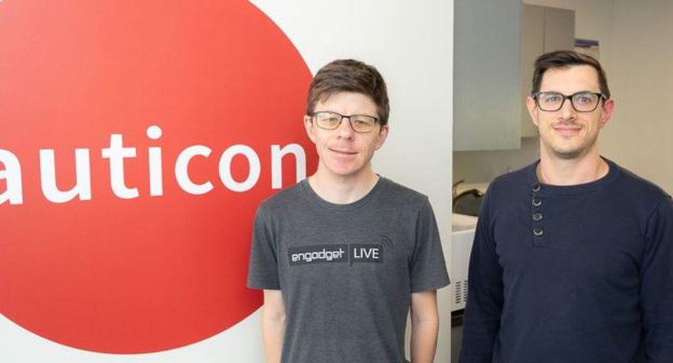 Evan y Peter disfrutan su trabajo en Auticon y definen el ambiente como relajado y alentador.  Créditos: Auticon