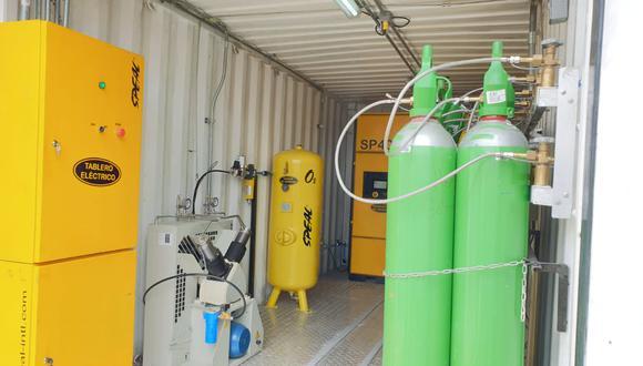 Huancavelica: Contraloría solicita poner en funcionamiento planta de oxígeno medicinal | Foto: Referencial