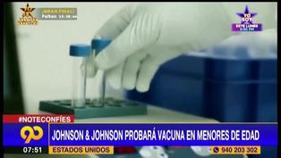 Johnson & Johnson da inicio a ensayos de su vacuna contra el COVID-19 en menores de edad