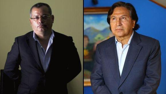 Rodolfo Orellana and Alejandro Toledo
