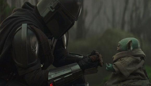 """Ahsoka Tano dijo que Mando es como un padre para 'Baby Yoda' ¿Qué pasará con ellos en los próximos episodios de """"The Mandalorian""""? (Foto: Disney+)"""