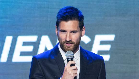 Lionel Messi asistió a un evento en China. (Foto: Reuters)