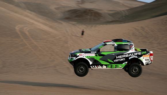 Diez equipos peruanos competirán en el Dakar 2019 en la categoría de coches, entre ellos Nicolás Fuchs. (Foto: Facebook)