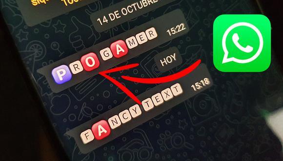 Conoce el truco para poder obtener las letras rojas en WhatsApp. (Foto: Mag)