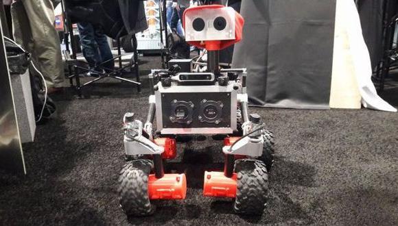 CES 2017: conoce cómo es el robot que pisó Marte en este video