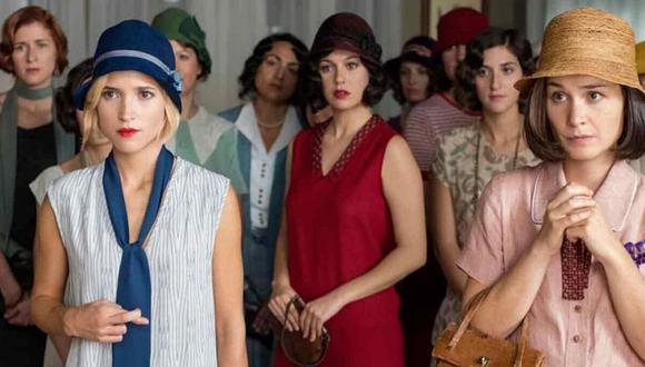"""""""Las chicas del cable"""" - temporada final, 3 de julio. (Difusión / Netflix)."""